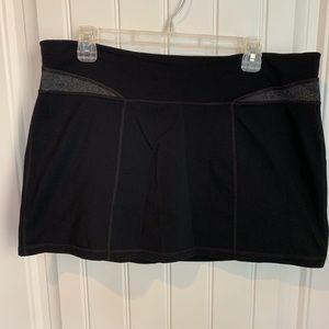 Tek Gear shapewear tennis skort black XL